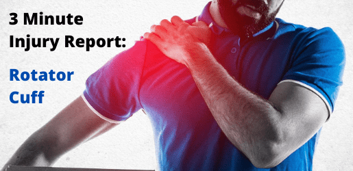 3 Minute Injury Report: Rotator Cuff