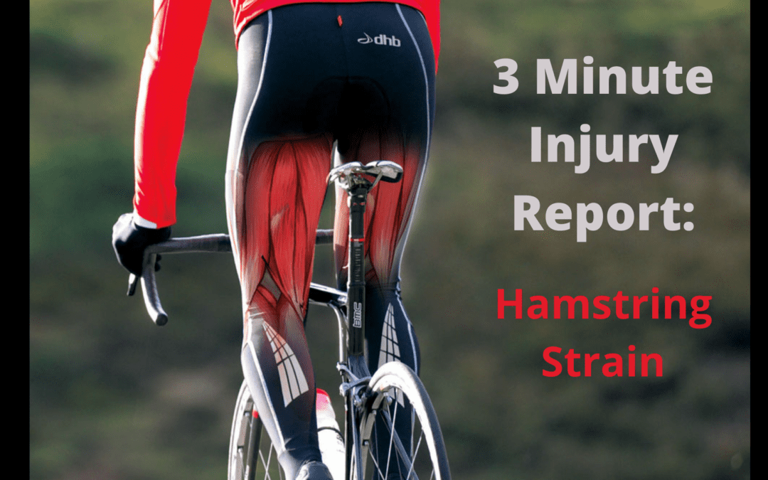 3 Minute Injury Report: Hamstring Strain